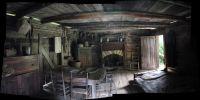 pioneer cabins interiors | the Arnwine cabin | rustic log ...