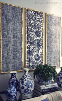 17 Best ideas about Fabric Wall Decor on Pinterest ...