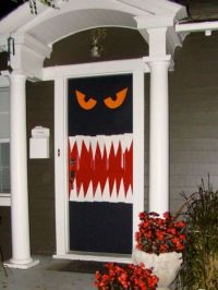 17 Best ideas about Halloween Door Decorations on