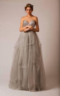 Grey wedding dress | Someday... | Pinterest | Wedding, To ...