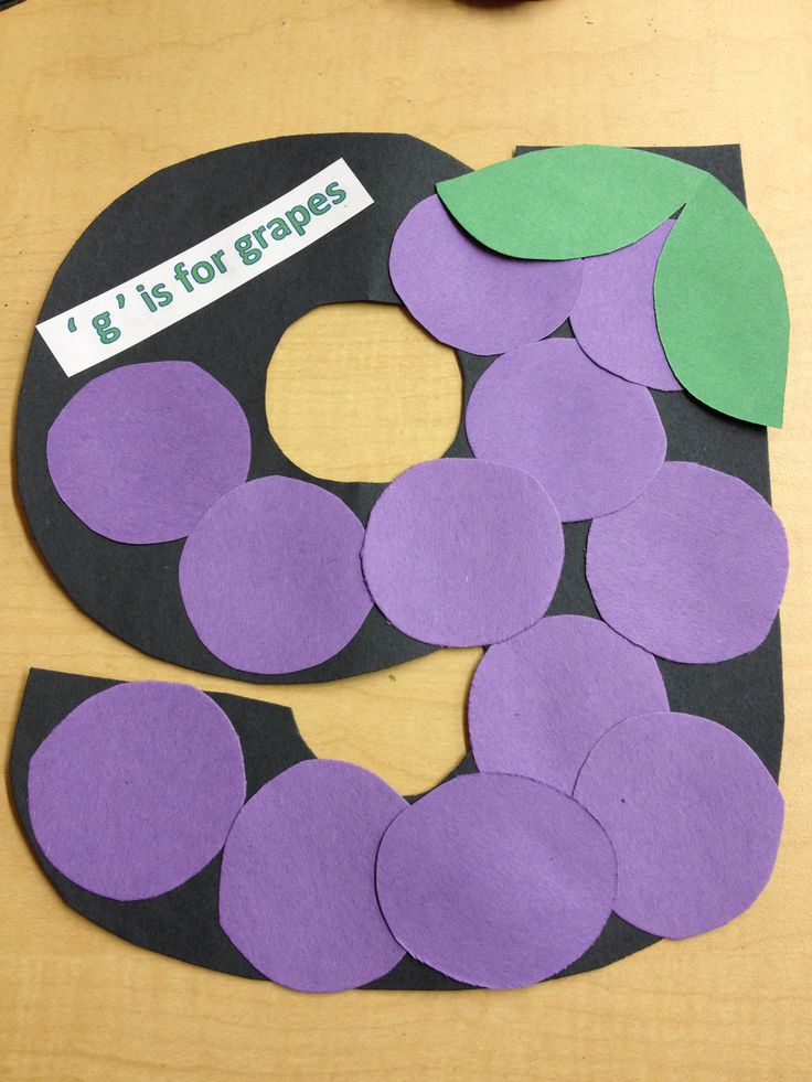 letter g crafts for preschoolers