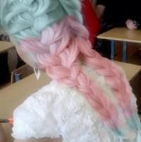 Cotton candy braids | Make-up & hair | Pinterest | Braids ...