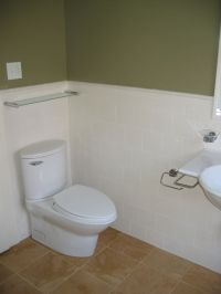 Tile bathroom wainscoting | Bathroom Remodel Ideas ...