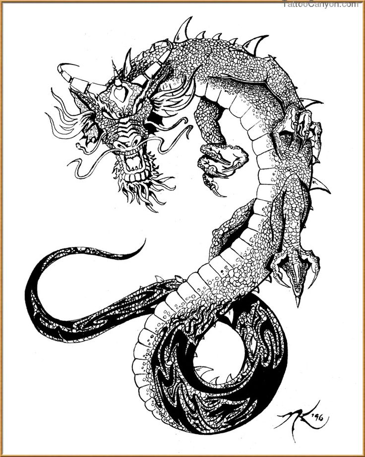 1000+ images about oriental dragon ink.. on Pinterest