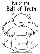 25+ best ideas about Belt of truth on Pinterest