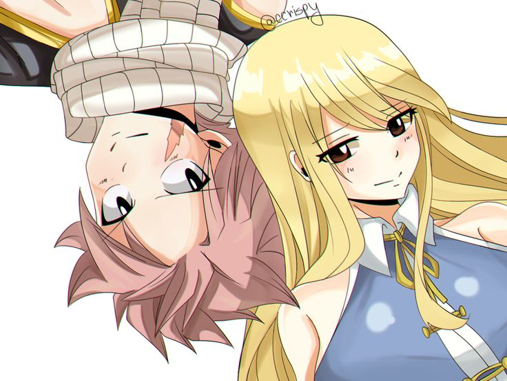 17 Best Images About NaLu (Natsu X Lucy) On Pinterest