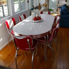 Restaurant Tables And Chairs Wholesale Orange Metal Dining 1000+ Images About 1950s-60 Settings - Red On Pinterest | Retro Kitchen Tables, Melbourne ...