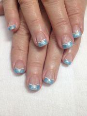 pretty light blue french