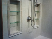 Recessed shelves in shower.   For the Home   Pinterest ...