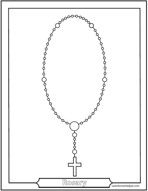 17 Best images about Catholic Kids Rosary on Pinterest
