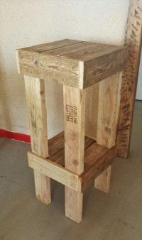 25+ Best Ideas about Pallet Stool on Pinterest
