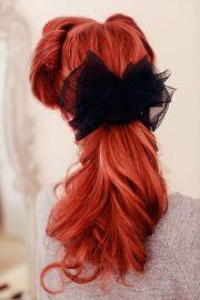 ideas retro ponytail