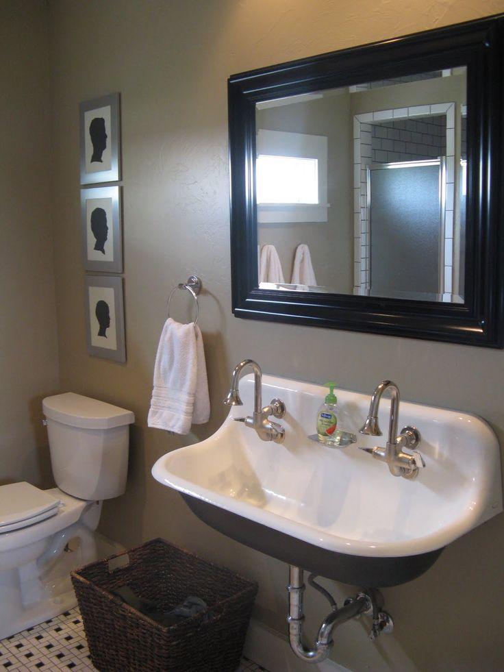 45 Best Images About Brockway Sink On Pinterest Trough Sink Medicine Cabinets And Black Bathrooms