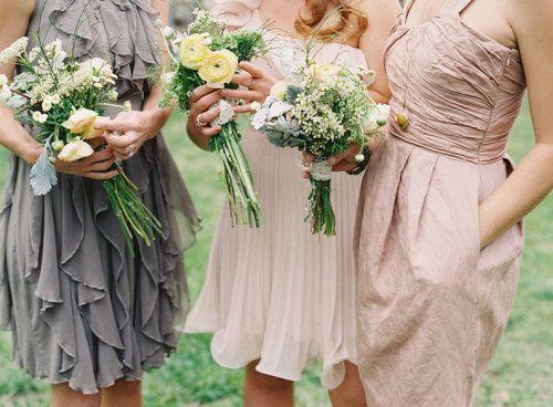 1000+ Ideas About Beige Bridesmaid Dresses On Pinterest