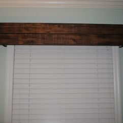 Window Treatments For Living Room Ideas Area Rug Rustic+wood+valance   Whitehouse Project Blog: Rustic ...