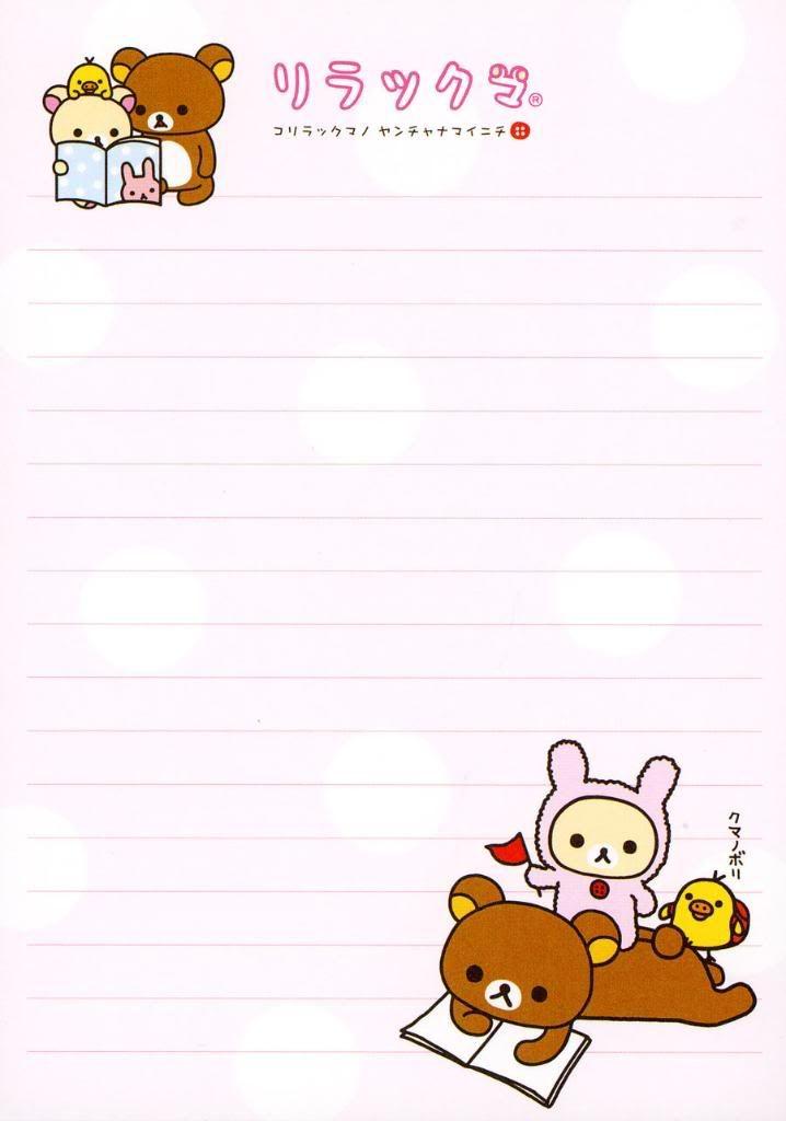 Cute Notepad Wallpaper Stationary Printable Pinterest Paper Medium And