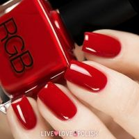 RGB Red Nail Polish (Core Collection)   Nail Art Community ...