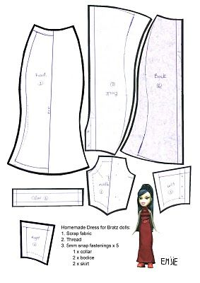 25+ best ideas about Doll Dress Patterns on Pinterest
