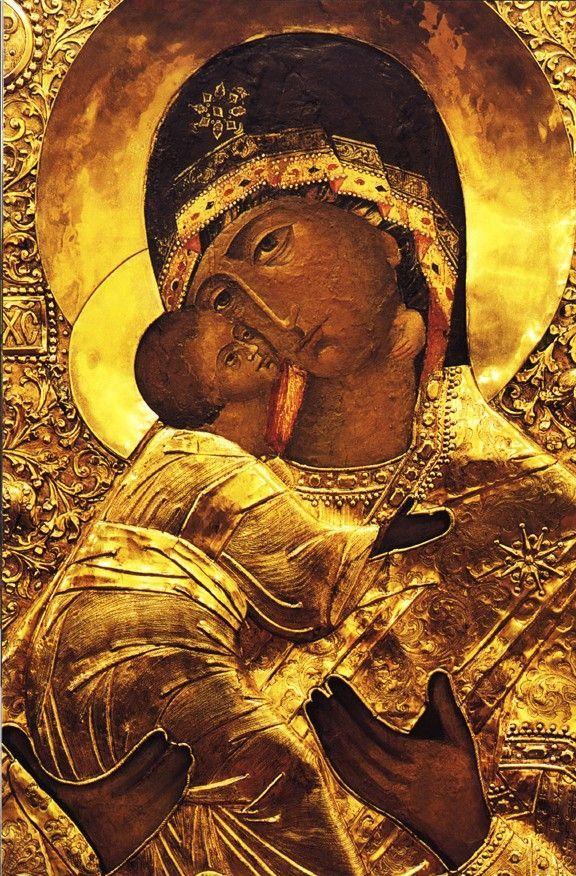 Theotokos Of Vladimir Icon AWESTRUCK Pinterest Icons