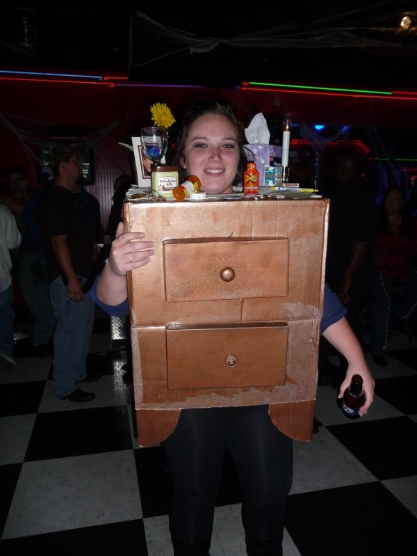 Adult Halloween Costume- Night Stand Won 1st Place