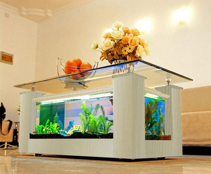 1000+ ideas about Fish Tank Coffee Table on Pinterest