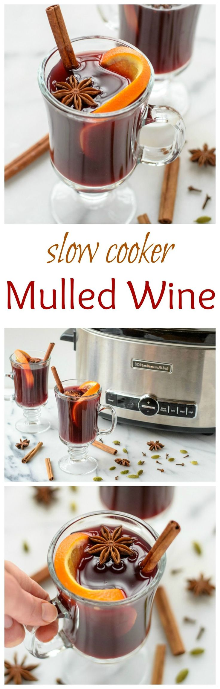 Slow Cooker Spiced Wine | Recipe | Passion parties ...