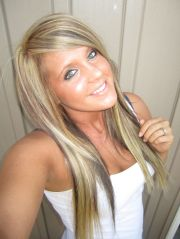 blonde highlights and lights