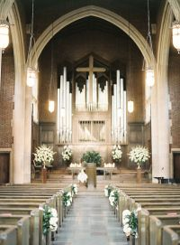 25+ best ideas about Church wedding flowers on Pinterest ...