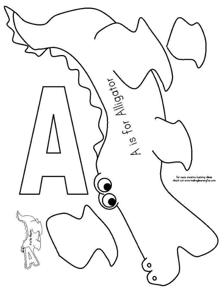583 best images about Preschool Letters A, B and C on