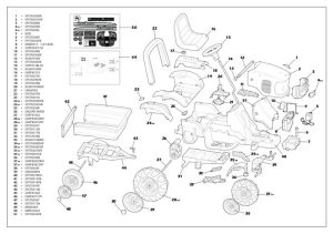 John Deere RX75 Parts Manual   parts schematic and parts list wiring diagram and electrical
