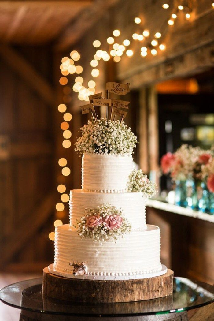 1000 ideas about Rustic Wedding Cakes on Pinterest