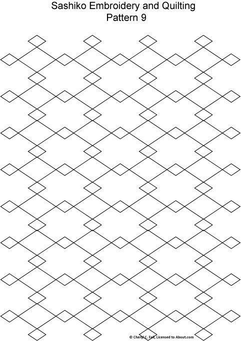 1000+ images about Needlework: Sashiko on Pinterest