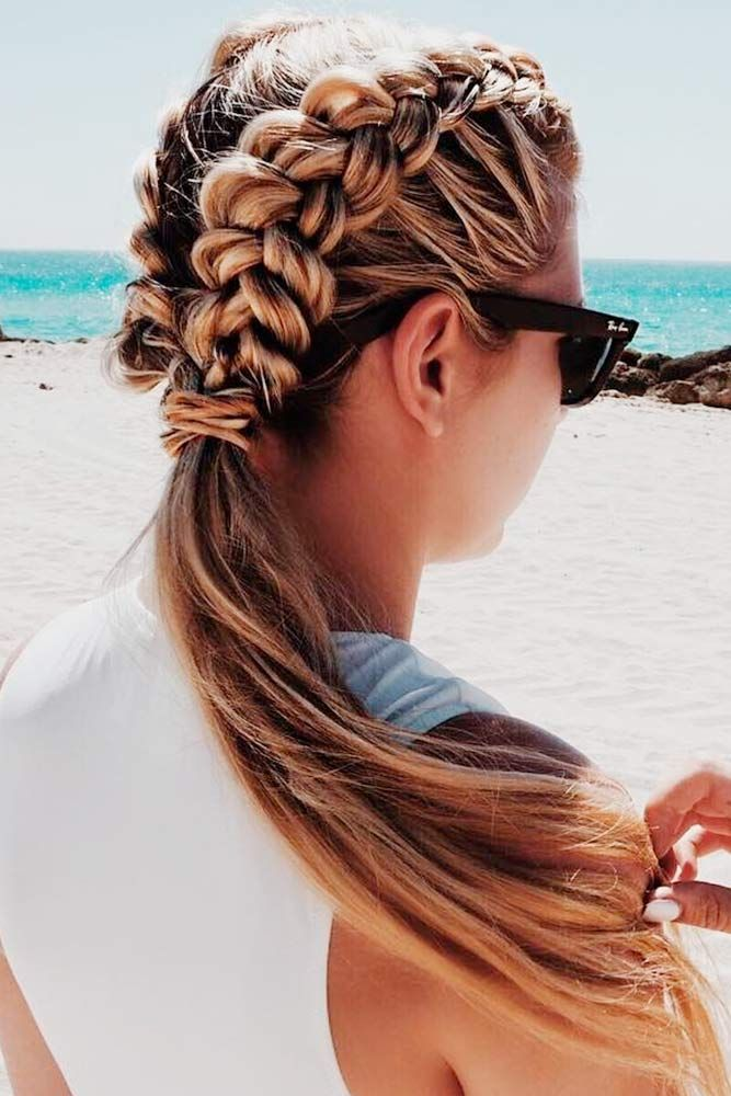 Best 10 Beach hairstyles ideas on Pinterest  French