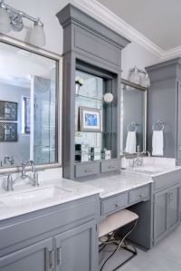17 Best ideas about Grey Bathroom Vanity on Pinterest ...