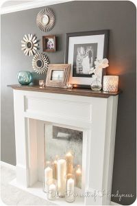 25+ best ideas about Faux fireplace on Pinterest | Fake ...