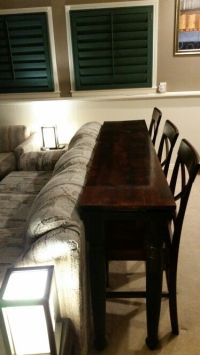 78 Best ideas about Table Behind Couch on Pinterest ...