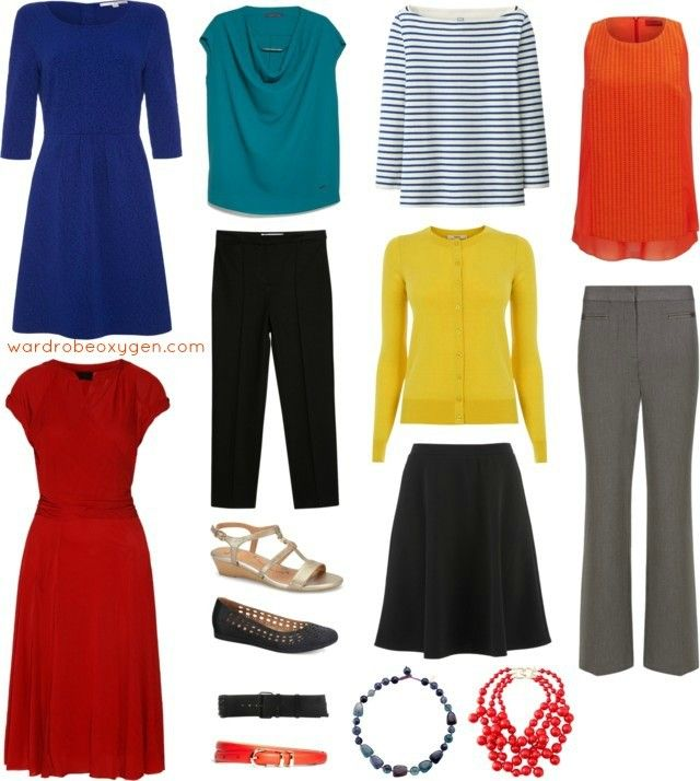 a business casual capsule wardrobe for a woman that features machine washable clothing.