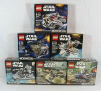 LEGO STAR WARS MICROFIGHTERS Series 1 Complete Set of 6 ...
