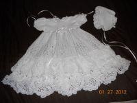 198 best Crochet Baby Christening images on Pinterest