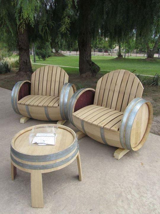 Les 156 Meilleures Images à Propos De Wine Barrel Ideas Sur