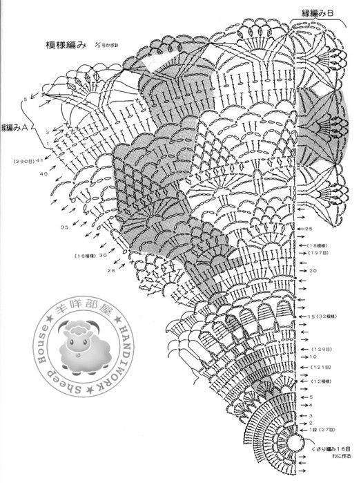161 best images about Crochet: Half Moon on Pinterest
