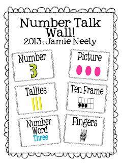 17 Best ideas about Kindergarten Math Wall on Pinterest