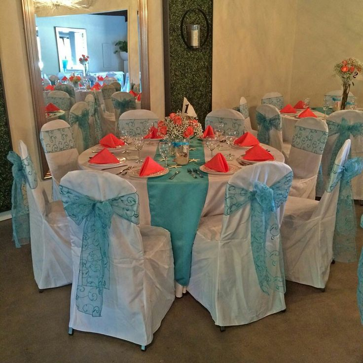 1000 ideas about Turquoise Coral Weddings on Pinterest