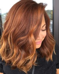 17+ best ideas about Copper Brown Hair on Pinterest