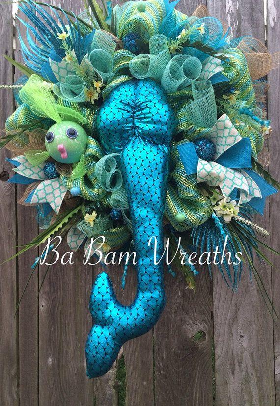 Wedding Deco Mesh Wreaths