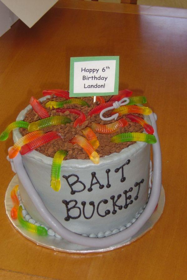 Fishing Theme Children S Cake Birthday Party Ideas