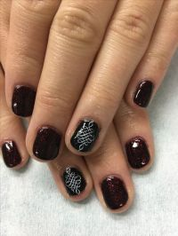 Color Changing Dark Purple/Pink with Stamped Black accent ...