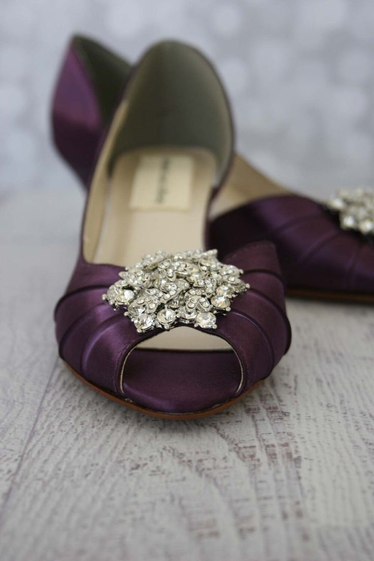 17 Best Ideas About Purple Wedding Shoes On Pinterest