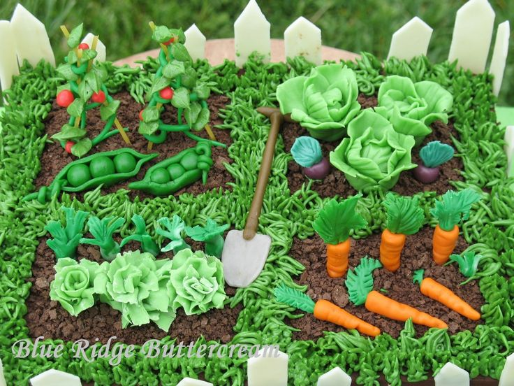 17 Best Ideas About Garden Cakes On Pinterest Garden Birthday