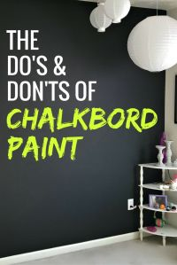 17 Best ideas about Chalkboard Paint Walls on Pinterest ...